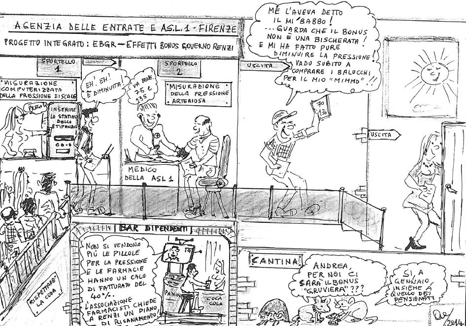 Vignetta Renzi